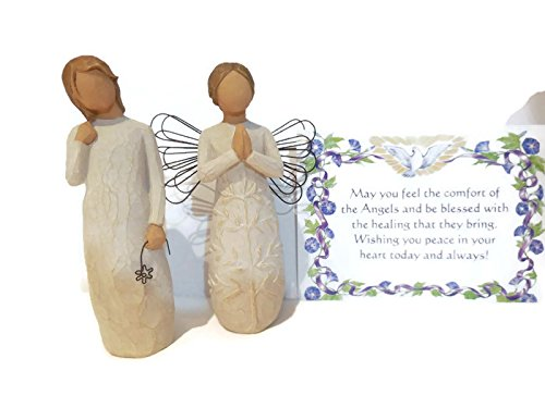 Willow Tree A Tree, A Prayer Angel Figurine Bundle With Willow Tree Remember Statue. An Ideal Sympathy-Condolence Gifts For Loss Of Mother/Father/Loved One