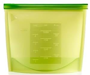 Lékué Cooking Bag - Bolsa de conservación en silicona, color verde