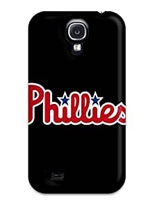 Flexible Tpu Back Case Cover For Galaxy S4 - Philadelphia Phillies