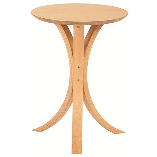 インテリア 家具 便利 おしゃれ 丸型サイドテーブル 木製 高さ54.5cm NET-410NA ナチュラル B01HT33NCW