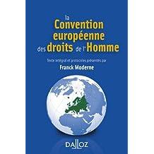 CONVENTION EUROPÉENNE DROITS HOMME 3ED.