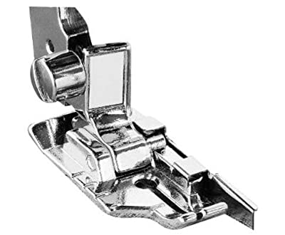 1-4 (Quarter Inch) Quilting Sewing Machine Presser Foot with Edge Guide - Fits All Low Shank Snap-on Singer*, Brother, Babylock, Husqvarna Viking (Husky Series), Euro-pro, White, Bernina (Bernette Series), New Home, Elna and More! by GOLDSTAR from Goldsta