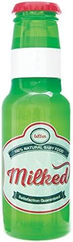 Pusher biber/ón color verde Plastico