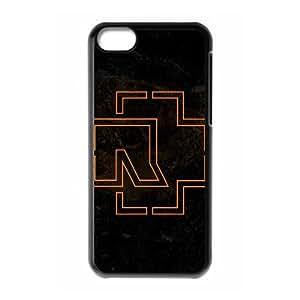 Rammstein iPhone 5c Cell Phone Case Black xlb-309682