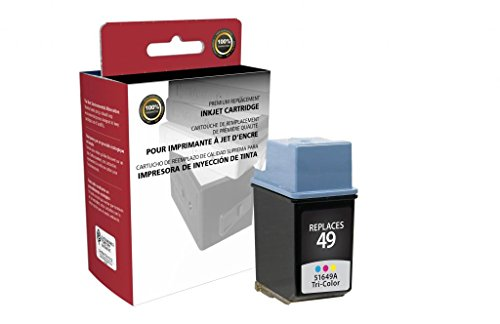 CIG Remanufactured Tri-Color Ink Cartridge for HP 51649A (HP 49)