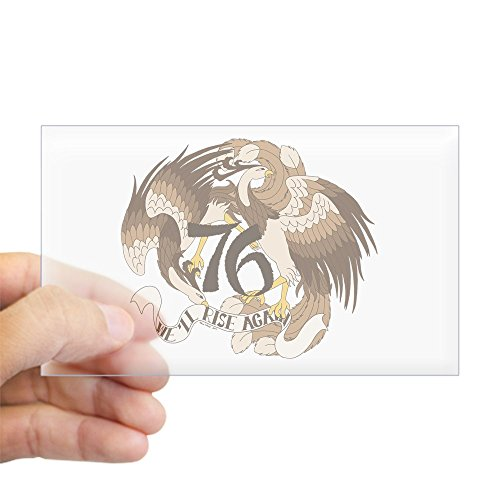 CafePress - We'll Rise Again Feng-Huang Rectangle Sticker - Rectangle Bumper Sticker Car (Mal Firefly Costume)