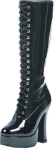 Ellie Combat Easy Black Women's Shoes Boot x8Uq6xw4