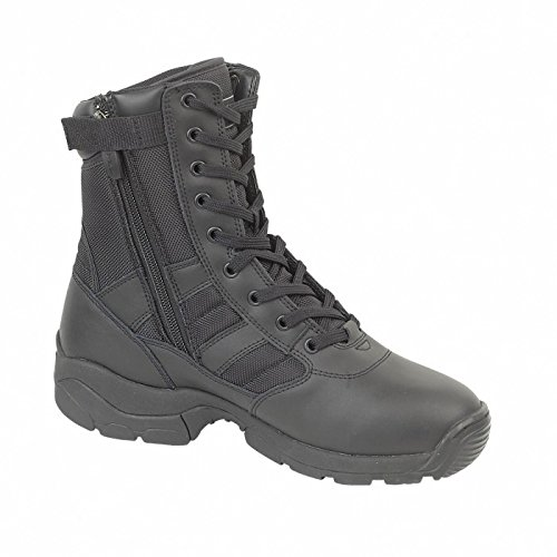 Magnum Panther 8inch Zip Laterale (55627) / Mens Stivali Neri