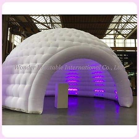 Amazon.com: cúpula de iglú hinchable para interiores y ...