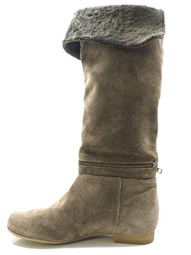 KEYS 35 EU Stiefel Damen Grau Wildleder AV326