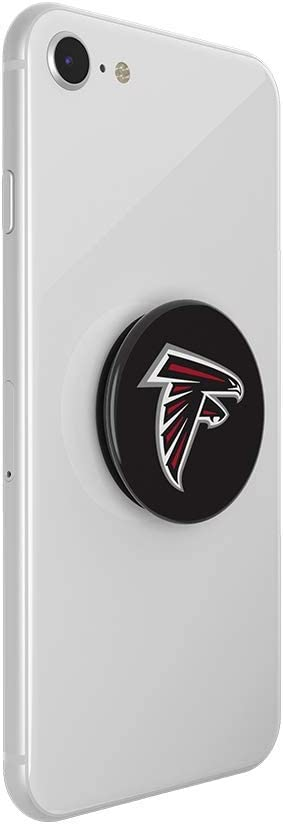 PopSockets NFL Atlanta Falcons Helmet PopGrip with Swappable Top for Phones /& Tablets