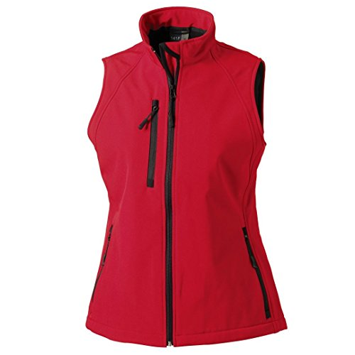 Russell chaleco softshell para mujer Classic Red