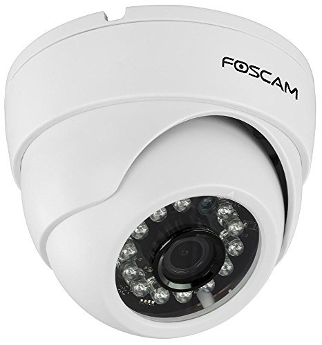 Foscam FI9851P Indoor Dome 720P Megapixel Wireless P2P IP...