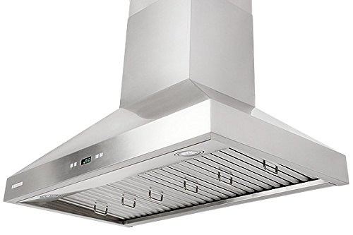 XtremeAir PX03-W36, 36'' wide, LED lights, Baffle Filters W/ Grease Drain Tunnel, 1.0mm Non-Magnetic Stainless Steel Seamless Body, Wall Mount Range Hood by XtremeAIR (Image #6)