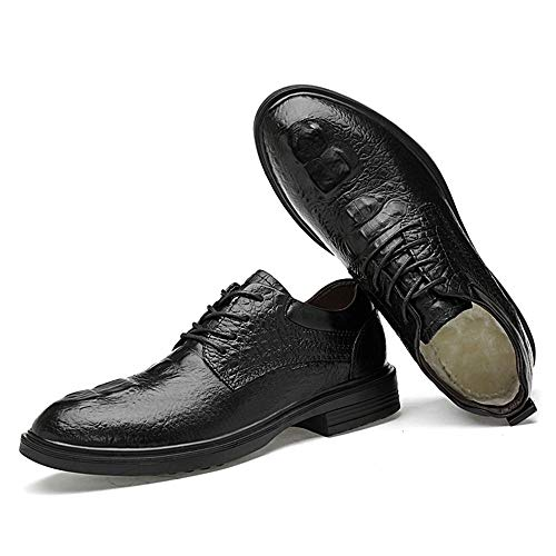Business Stringate Formali Faux Black Low estate Inside 2018 Top A Dimensioni Uomo Coccodrillo Suede Le Crocodile Fleece Grandi Da Confortevole Oxford Convenziona Scarpe smooth Motivo Warm Di Black Primavera Con qP6wHaE
