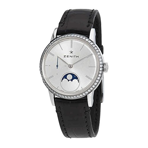 Zenith Elite Automatic Diamond Moonphase Ladies Watch 16.2330.692/01.C714