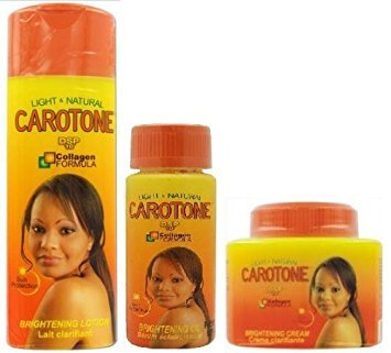 Carotone DSP10 COMBO SET ***INCLUDES LOTION, CREAM, AND BODY OIL***