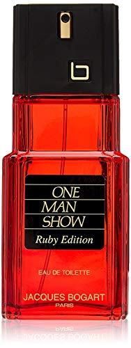 Jacques Bogart One Man Show for Men, Eau de Toilette Spray, Ruby Edition, 3.33 Ounce