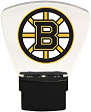Authentic Street Signs 85302 NHL Boston Bruins LED Nightlight, Clear, One Size