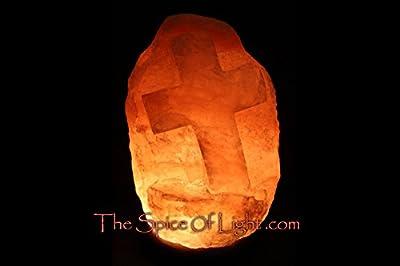 Cross Medium Himalayan Salt Lamp
