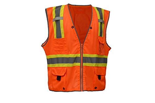 2 Two Tone Safety Vest - 9