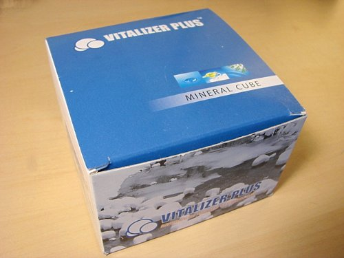 Mineral Cube (3 Pack) for the Water Vitalizer Plus - 3 Vitalizer Plus Mineral Cubes - Purchase Supports a Nonprofit!