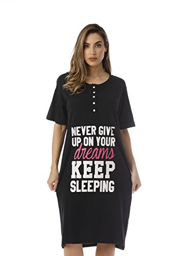 Just Love Short Sleeve Nightgown Sleep Dress for Women Sleepwear 4361-170-1X