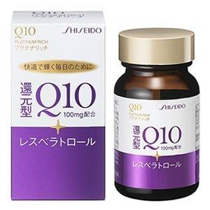 【2個】資生堂薬品 Q10 プラチナリッチ 60粒x2個 (4987415663906) B00KD357YS