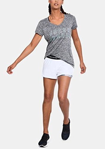 Under Armour Womens HeatGear Armour 2-in-1 Printed Shorts