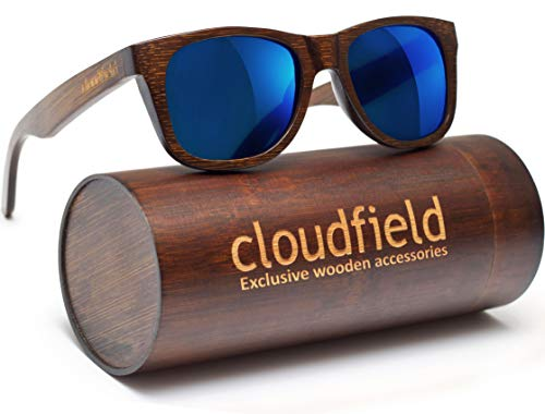 Wood Sunglasses Polarized for Men and Women - Bamboo Wooden Sunglasses ()