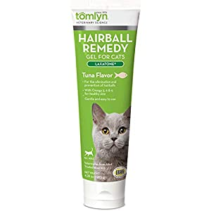 TOMLYN Laxatone Hairball Remedy Gel for Cats 1