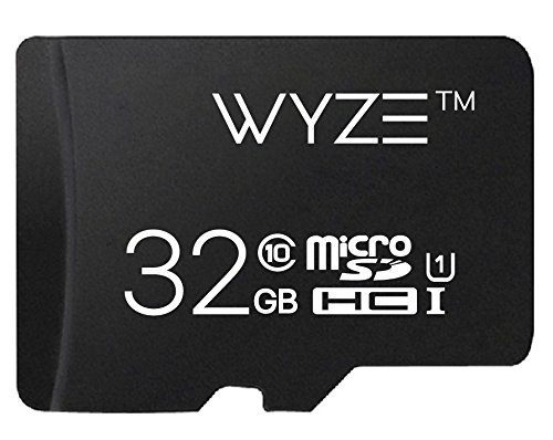 - Wyze Labs Expandable Storage 32GB MicroSDHC Card Class 10