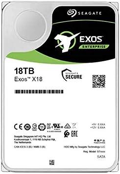 EXOS X18 18TB SAS 3.5IN 7200RPM Helium 512E/4K
