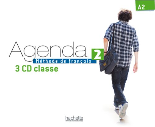Agenda 2 - CD Audio Classe (X3) (French Edition)