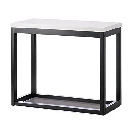 big sale 9a54a ebdff Amazon.com: Long Wooden Table, Rustic Side Top Table Long ...