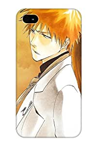 Design High Impact Dirt/shock Proof Case Cover For Iphone 4/4s (anime Bleach)