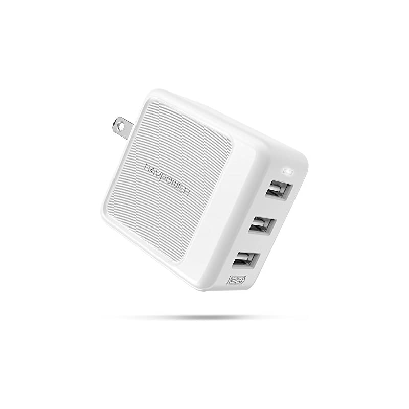 USB Wall Charger [Upgraded] RAVPower 3-P