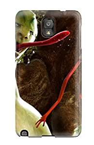 Hot Tpu Cover Case For Galaxy Note 3 Case Cover Skin Alien Creature