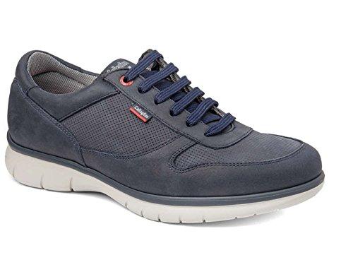Callaghan 88301, Zapatos de Cordones Oxford para Hombre Azul