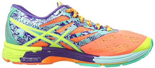 2307 Flash Noosa Yellow Ice Gel Asics Training Blue Flash Shoes 10 Red Running Coral Tri Women's AZcc7qn4zg