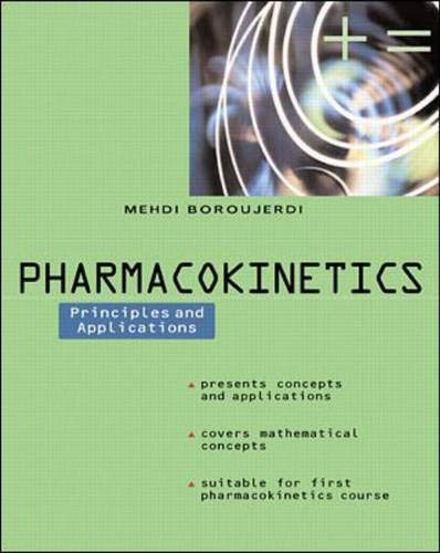 Pharmacokinetics  : Principles and Applications
