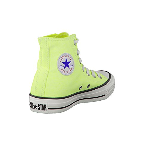 Wash Converse Femmes Mode Chuck Jaune Hi Neon Baskets All Star Fluo Taylor xqRqHU