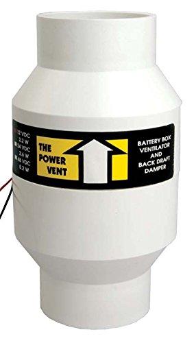 Zephyr Power Battery Box Vent Fan - 24 Volt DC