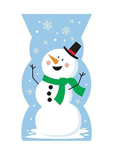 Shaped Snowman (Snowman Shaped Cello Bag)