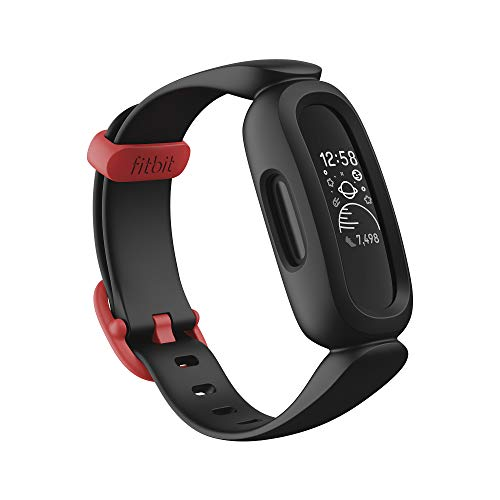 Fitbit Ace 3 Activity Tracker for Kids with Animated Clock Faces, Up to 8 days battery life & wa