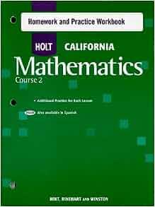 Holt california algebra 2 homework help