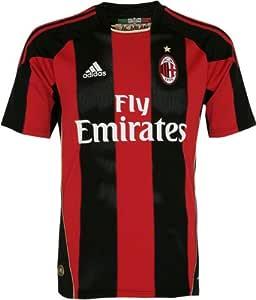 Amazon.com: adidas AC Milan Home Jersey 2010/2011 ...