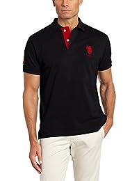 U.S. Polo Assn. Men's Short-Sleeve Shirt with Applique