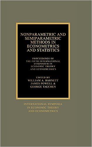 Hae pdf-kirjoja lataamalla Nonparametric and Semiparametric Methods in Econometrics and Statistics: Proceedings of the Fifth International Symposium in Economic Theory and ... Symposia in Economic Theory and Econometrics) 0521370906 PDF FB2 iBook
