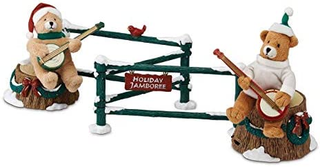 Mr. Christmas Gold Label Duelling Banjo Bears Animated and Musical New for 2013
